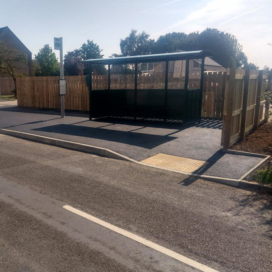 Tackley DDA Bus Stop and Civils