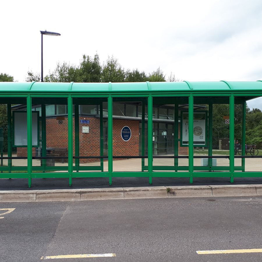 8 Bay Bus Shelter in Winchester
