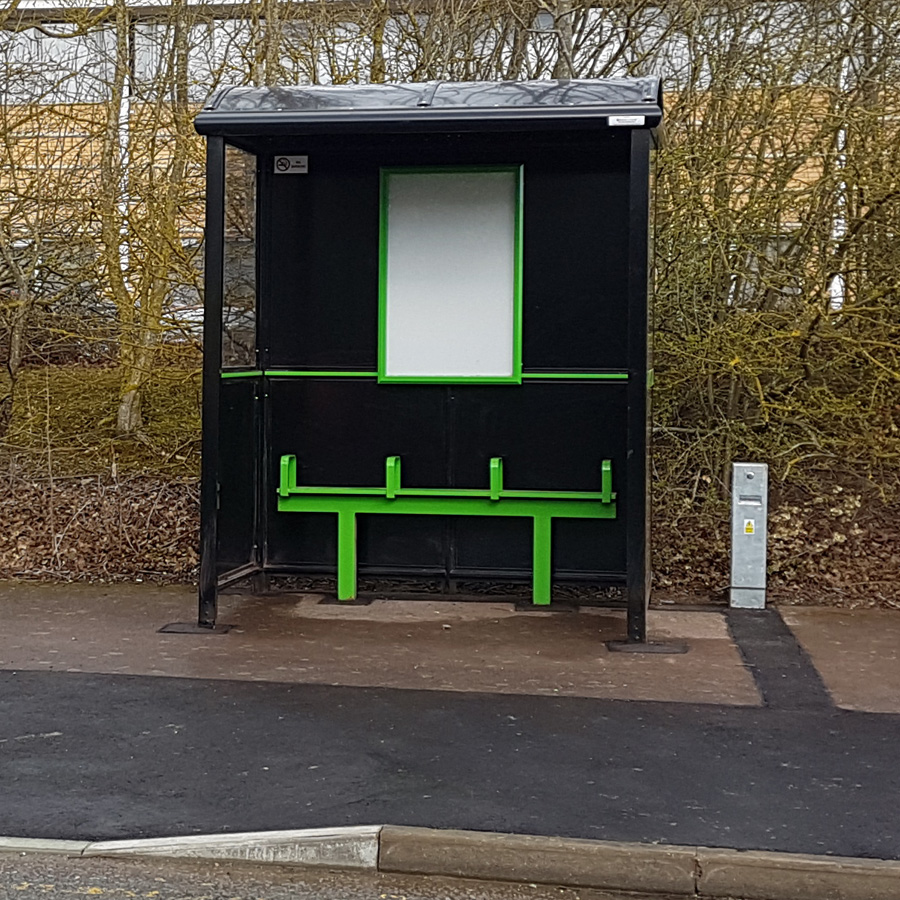 New Bus Shelters for Central Bedfordshire